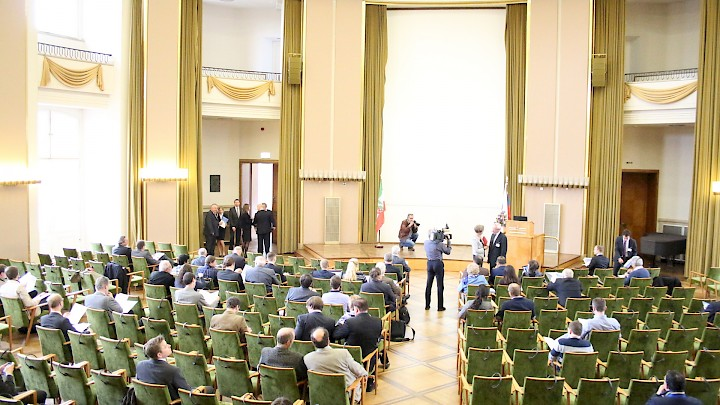 Science Conference NRW Russia - Internationale Konferenz im Schloss Münster